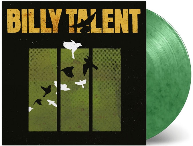 billy talent vinyle lp colore edition limitee 2020