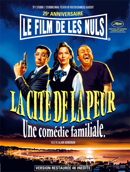 la cite de la peur Blu ray version 4K edition collector limite 25 ans anniversaire