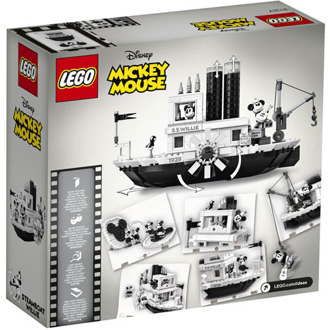 lego ideas 21317 Mickey mouse Steamboat Willie 70th