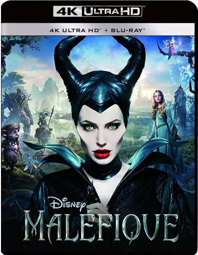 malefique blu ray 4K Ultra HD UHD