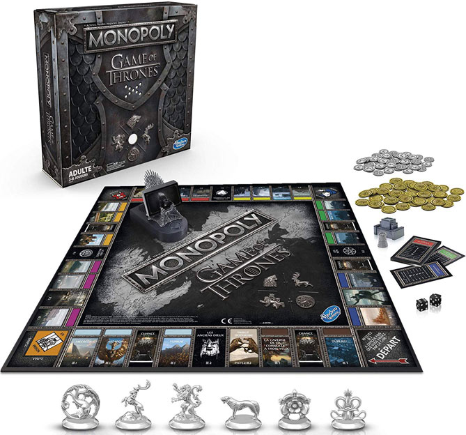 monopoly got game of thrones version francaise