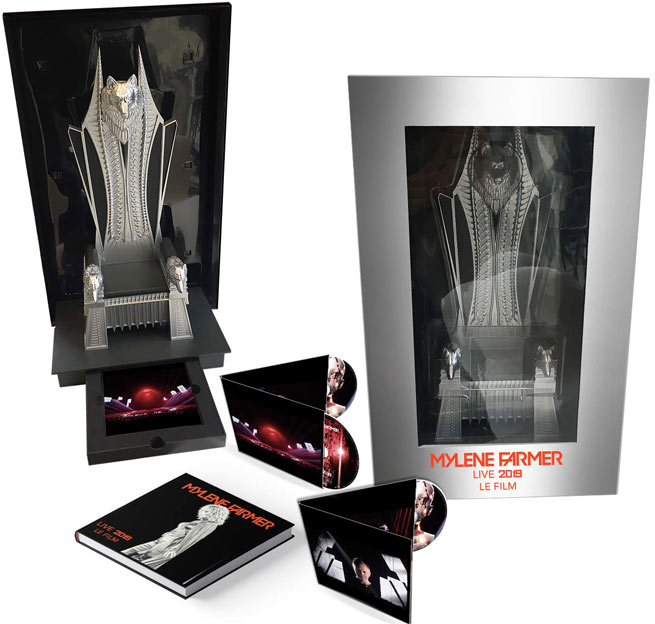 mylene farmer coffret collectro trone edition limitee live 2019