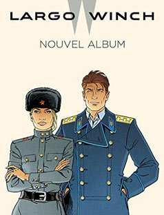 nouvel album bd largo winch