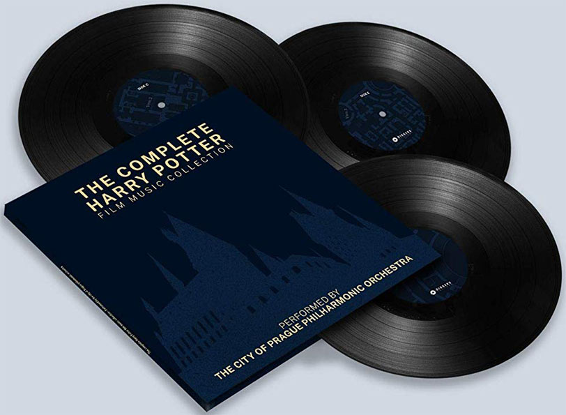 complete harry potter film music collection ost soundtrack vinyle lp