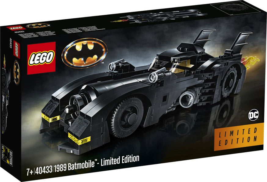 40433 batmobile limited edition collector 1989 2019