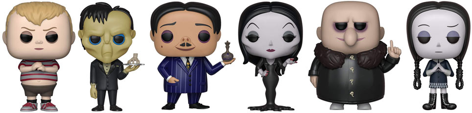 Funko pop addams 2019 animated animation