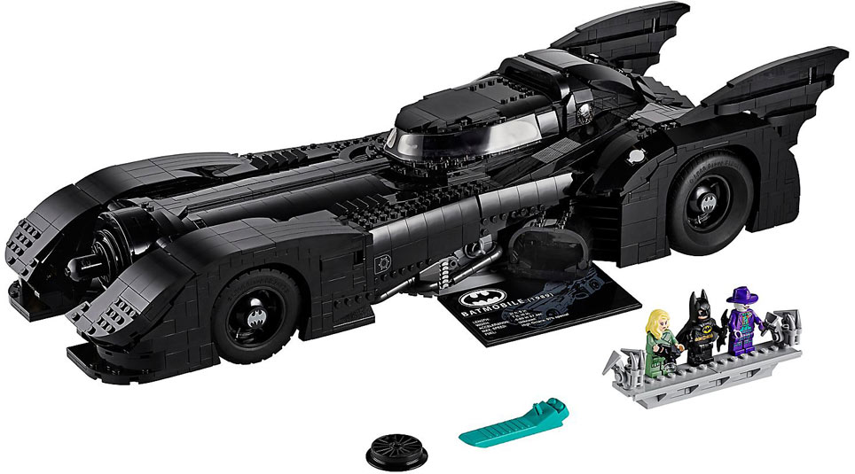 batmobile batman Lego collector 1989 76139