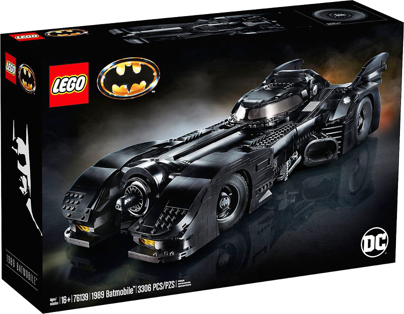 batmobile lego 2019 ucs collector 1989 tim burton