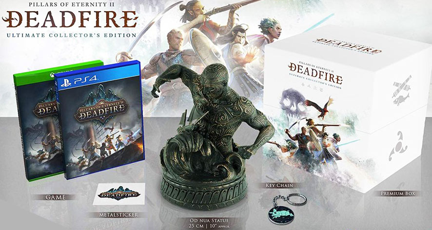 collector deadfire figurine noa nua edition limitee