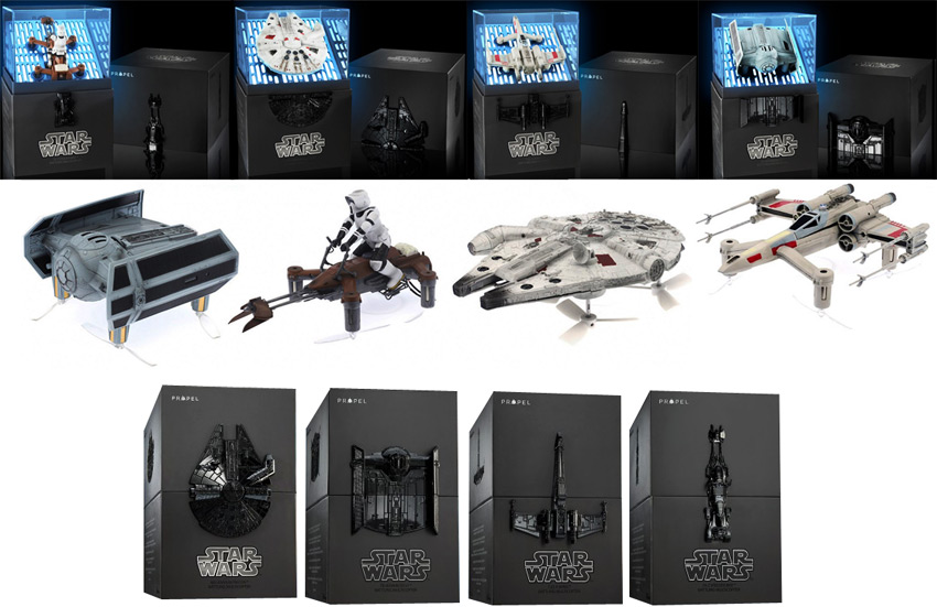 Drone-Star-Wars Propel achat precommande edition collector