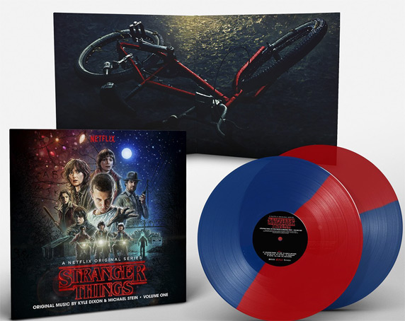 Stranger-things-Bande originale soundtrack Vinyle collector