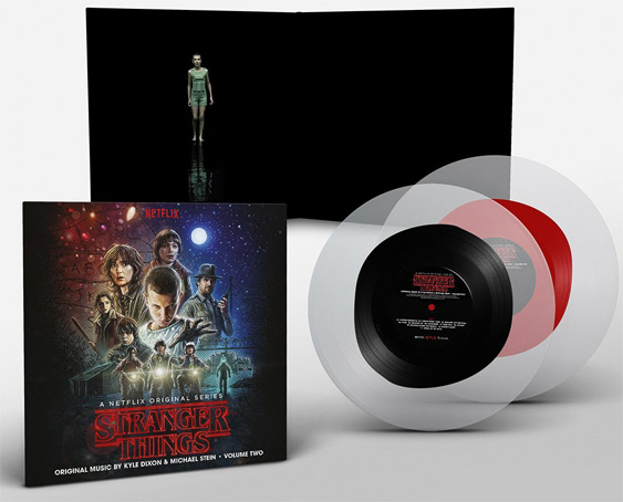 stranger-things-edition collector vinyle transparent LP BO