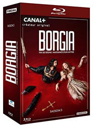 BORGIA COFFRET Blu-ray DVD