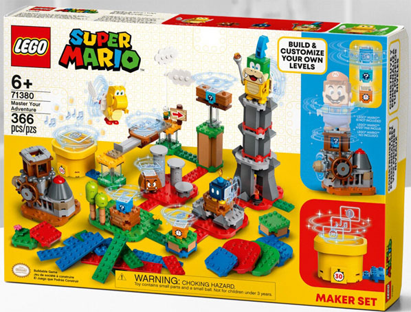 LEGO Super Mario 71380 master adventure