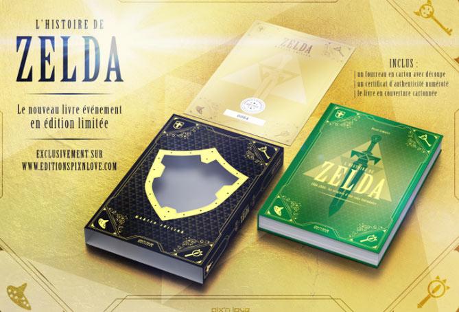 Livre Histoire De Zelda Edition Deluxe Limitee