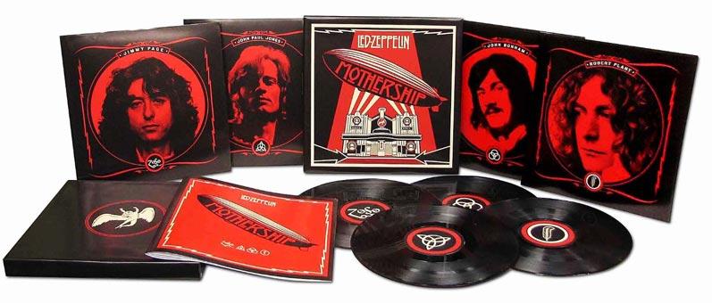 Led Zeppelin Mothership Coffret Collector Vinyles Et Double Cd