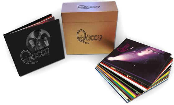 Queen-complete-Album-studio-Vinyle-et-CD