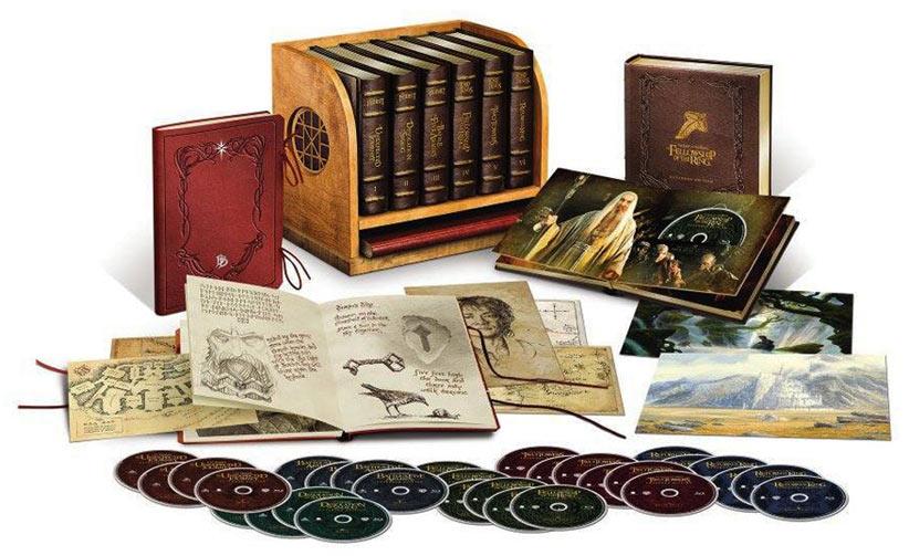 dernière mode sélectionner pour dernier vente en ligne Coffret Blu-ray Middle Earth Le Hobbit Le seigneur des ...
