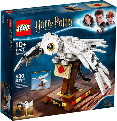 Lego Harry Potter Hedwige 75979 chouette