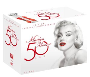 coffret DVD Marilyn Monoroe