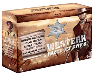 western clint eastwood coffret