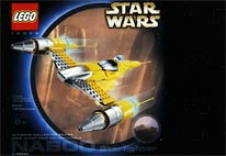 LEGO-Star-Wars-10026-Naboo-starfighter-collector-series