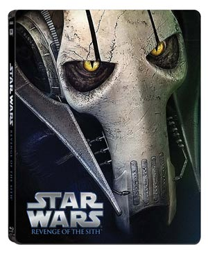 Star-wars-steelbook-general-Grievous-La-Revanche-des-Sith-episode-3