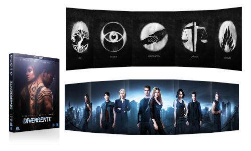 divergente combo collector bluray dvd