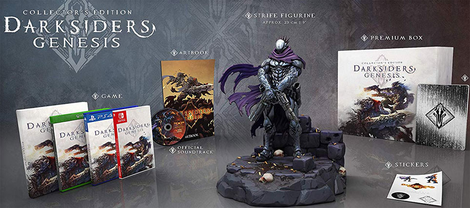 Darksiders genesis coffret collector edition limitee Nintendo Switch PS4 Xbox